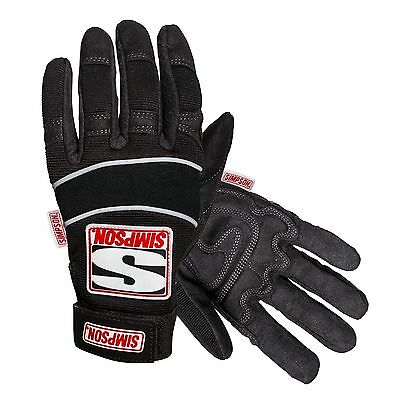 Simpson Wrencher Car Mechanic/Garage/Workshop Work Gloves In Black
