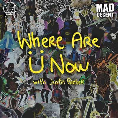 """Skrillex & Diplo - Where Are Ü Now (with Justin B NEW 7"""""""