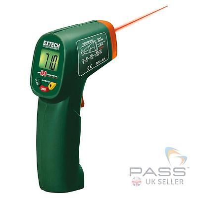 NEW Extech 42500 Mini IR Thermometer with Laser Pointer + Case / (-20 to 260°C)