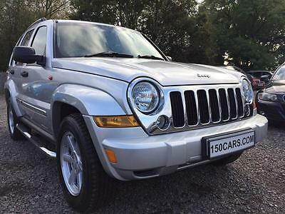 2007 Jeep Cherokee 2.8 CRD Limited Station Wagon 4x4 5dr