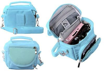 Blue Travel Bag Carry Case For New 2015 Nintendo 3Ds And 3Ds Xl