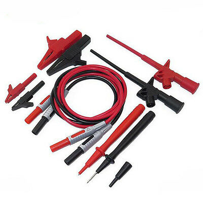Universal 10-in-1 Electronic Specialties Test Lead Cable Multimeter Test Probe