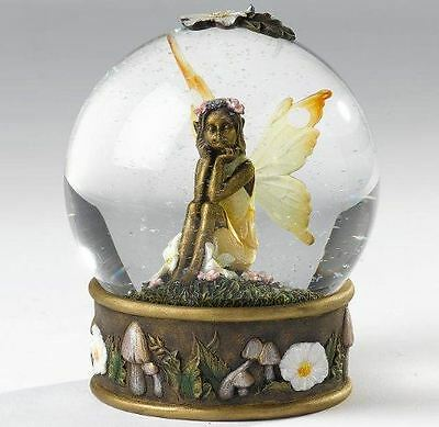 Fairy Amber Waterball Collectable Fairies Girly Christmas Gift Collecta, CA00170