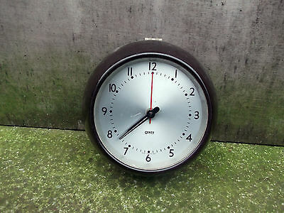 Vintage Gents electric bakelite wall clock