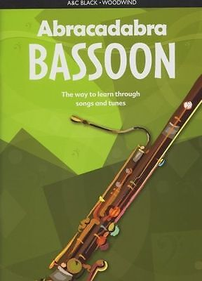 Abracadabra Bassoon The Way to Learn Through Songs and Tunes  - Jane Sebba