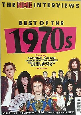 NEW MUSICAL EXPRESS - BEST OF THE 1970s - THE INTERVIEWS (2016 MAGAZINE) NEW