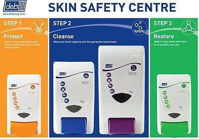 Deb Naturally 4 Way Skin Safety Centre Food + Catering Hand Skin Care Protection