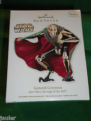 Hallmark Ornament 2012 Star Wars Revenge of the Sith General Grievous 16th serie
