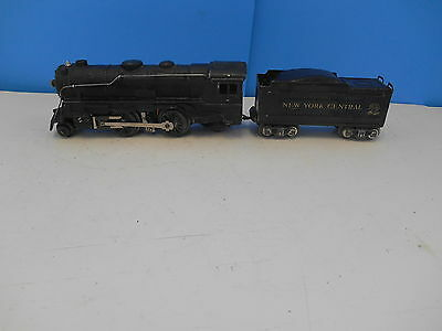 Marx Locomotive 999 2-4-2 Steam Engine And Nyc Tender