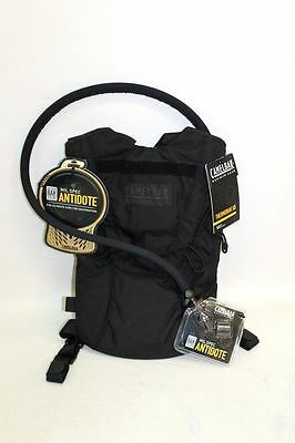 BNWT CAMELBAK MAXIMUM GEAR Black Short Mil Spec Antidote Thermobak AB 100 0Z 3L