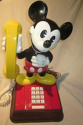 Original Early Mickey Mouse Telephone