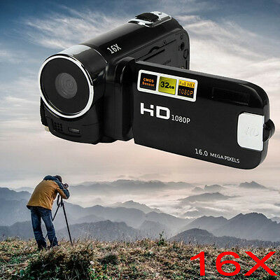 2.7inch Full HD 1080P 16M 16X Digital Zoom Video Camcorder  DV Camera Christmas