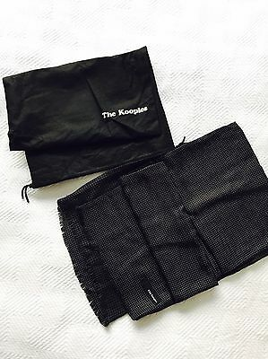 Men's Kooples Silk & Wool Scarf New With Dustbag