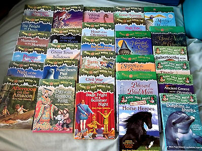 45 Mary Pope Osborne MAGIC TREE HOUSE children's books 14 are Research Guides