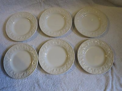 6 x BRITISH HOME STORES BHS LINCOLN 6.75 INCH TEA / SIDE PLATES
