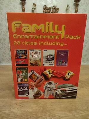 PC Software bundle. Family entertainment package. New big box. FREE UK post.