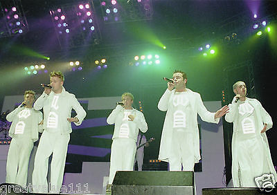 Westlife Photo Unique Unreleased 2001London Gig Stunning 12 Inch Photo Rare Gem