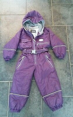 Girls snow suit 104cm approx 4yrs great condition