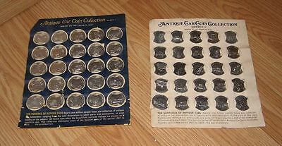 The Franklin Mint Antique Car Coin Collections Series 1 & Series 2 **READ**