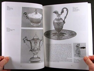 Antique French Silver & Silversmiths of Lyon 1798-1940 -Marks, Biographies, more