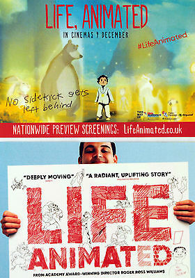 Life Animated Film Postcards X 3 - Roger Ross Williams