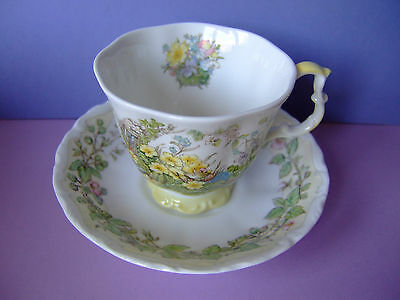 A Royal Doulton Brambly Hedge Cup and Saucer ...Spring