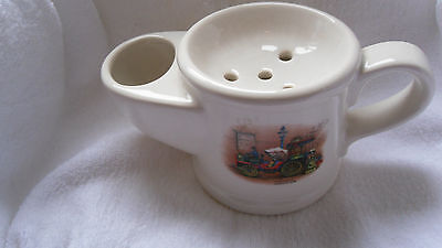 """Large Wade Shaving Pot """"la Moncelle"""" By Bollee 1878 Pictured"""