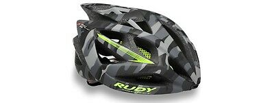 Casco Bici RUDY PROJECT AIRSTORM Grey Camo/Yellow Fluo Matte/HELMET AIRSTORM RUD