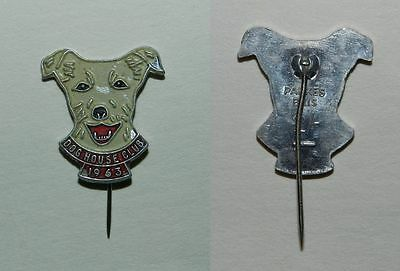 "Old ""dog House Club"" Fundraiser Badge 1963 - 2 Shillings - Scarce"