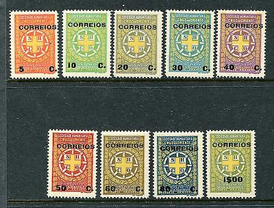 Mozambique Scott RA11-20 (1927) MNH Coat of Arms. x20399