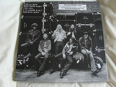 Vinyl Album Box Set: The Allman Brothers Band : Live 1971 Fillmore East 4 LPs