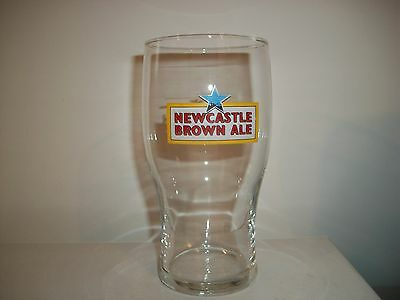 Newcastle Brown Ale- Beer Glass