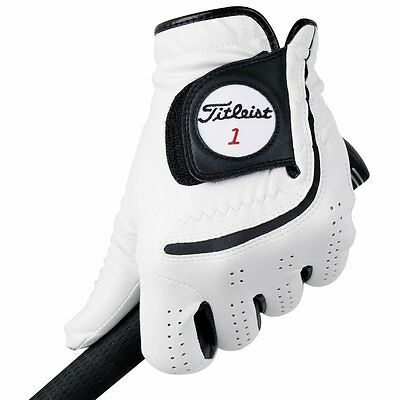 Titleist Mens Players-Flex Golf Gloves Left Handed White And Black M-XXL NWT