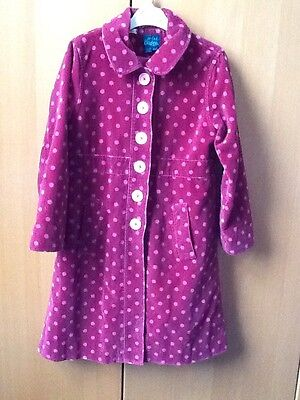mini boden girls Velvet coat 9-10