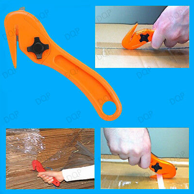 1x Safety Knife Pallet Shrink Wrap Film Slitter, Strap Slicer Box Cutter Opener