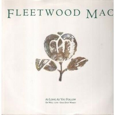 "FLEETWOOD MAC As Long As You Follow 12"" VINYL 3 Track B/W Oh Well Live And Gold"