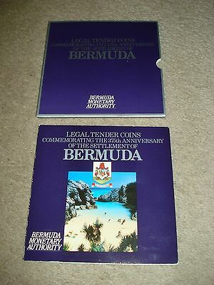 1984 Commemorating the 375th Anniversary of the Bermuda Coins - 11 Total