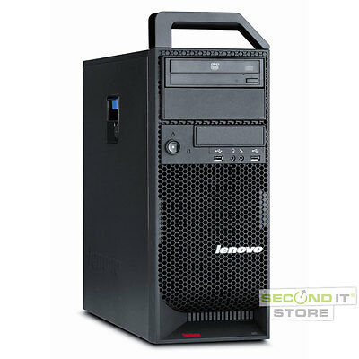 Lenovo ThinkStation S20 Workstation Xeon 4x 2,67 GHz 4 GB RAM 500 GB HDD Win7