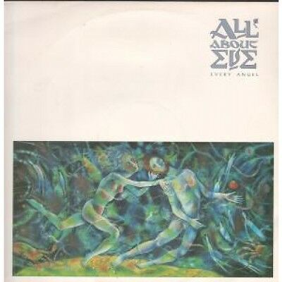 """ALL ABOUT EVE Every Angel 12"""" VINYL 3 Track B/W Wild Flowers And Candy Tree"""