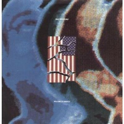 """DIE WARZAU Welcome To America 12"""" VINYL 4 Track B/W Remix, Hip Hop Mix And Hip"""