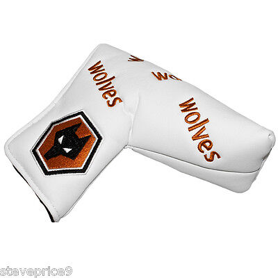 New Wolves Fc Blade Putter Cover + Golf Ball Marker