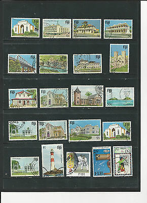FIJI - SELECTION OF USED STAMPS - FIJ1ABab 2 photos