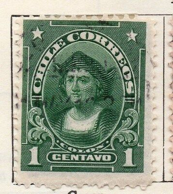 Chile 1911 Early Issue Fine Used 1c. 112802