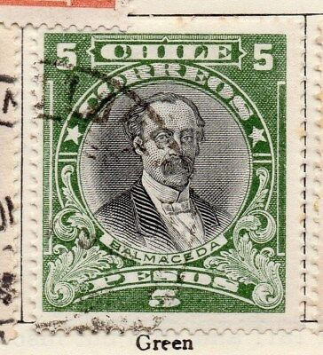 Chile 1911 Early Issue Fine Used 5P. 112816