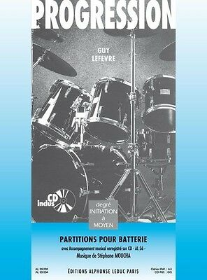 Guy Lefèvre: Progression (Book) Percussion