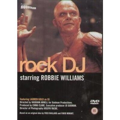 ROBBIE WILLIAMS Rock Dj DVD 9 Minutes Featuring Full Length Video