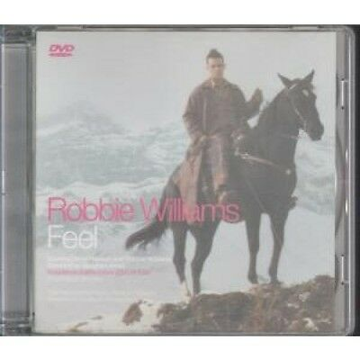 ROBBIE WILLIAMS Feel DVD 3 Track Pal Format Featuring Feel Video, You're