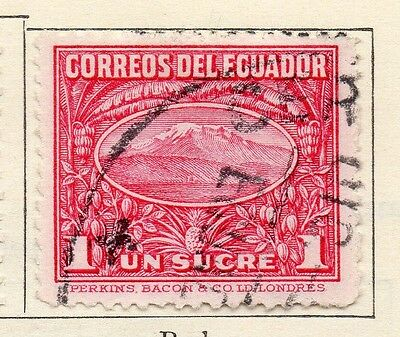 Ecuador 1934-35 Early Issue Fine Used 1S. 113526