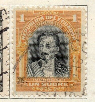 Ecuador 1925-27 Early Issue Fine Used 1S. 113580