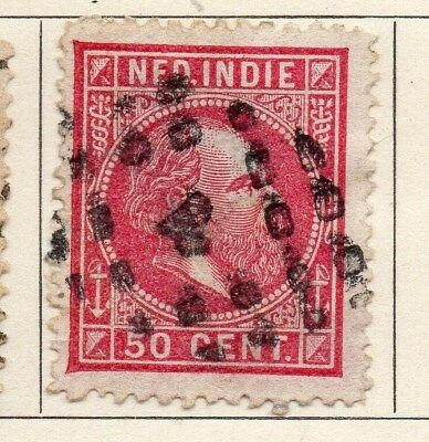Dutch Indies 1870 Early Issue Fine Used 50c. 113647